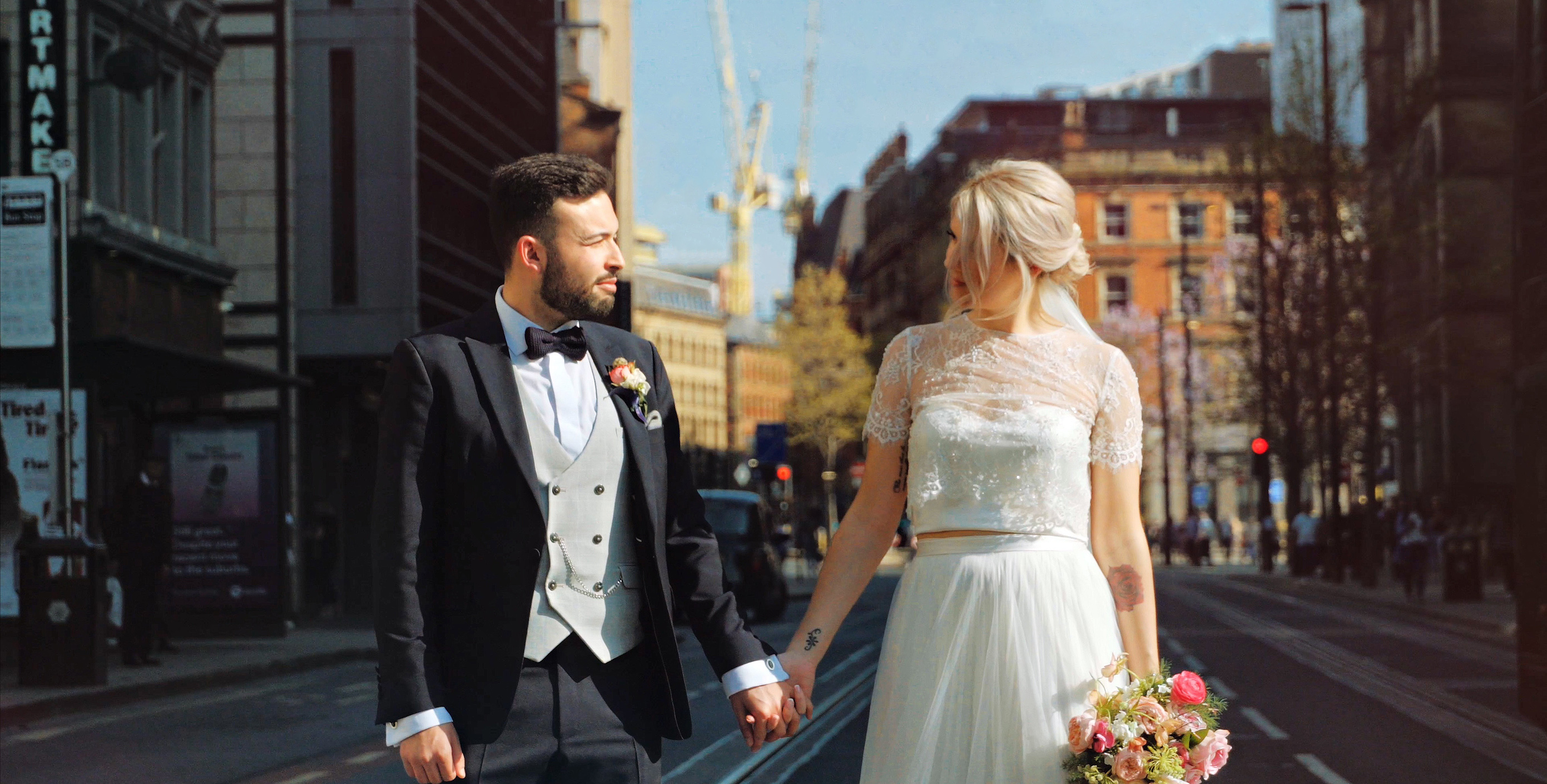Manchester wedding video